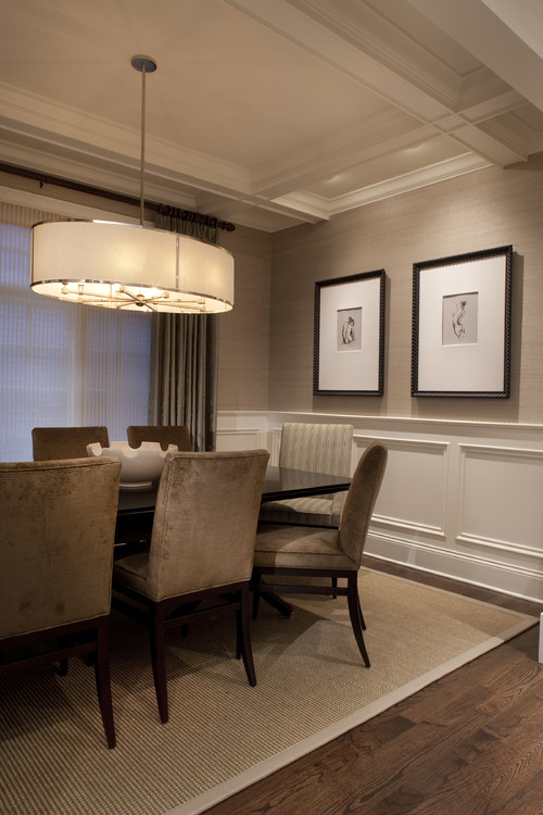 traditional dining room by chicago interior designers decorators
