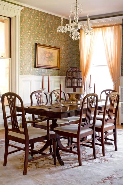 Semaski 39 s house victorian dining room new york by for Victorian dining room decorating ideas