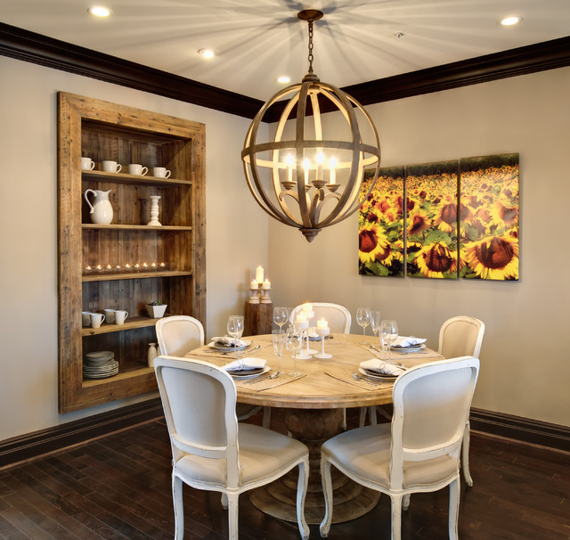 Captivating Semerjian Interiors Rustic Dining Room