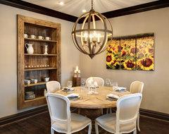 Semerjian Interiors rustic-dining-room