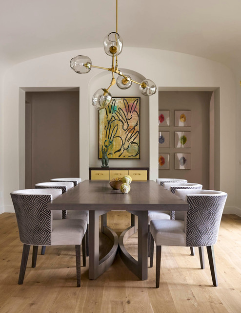 Seneca preston hollow contemporary dining room for Seneca custom homes