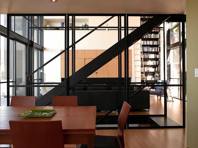 Seola Beach House contemporary-dining-room