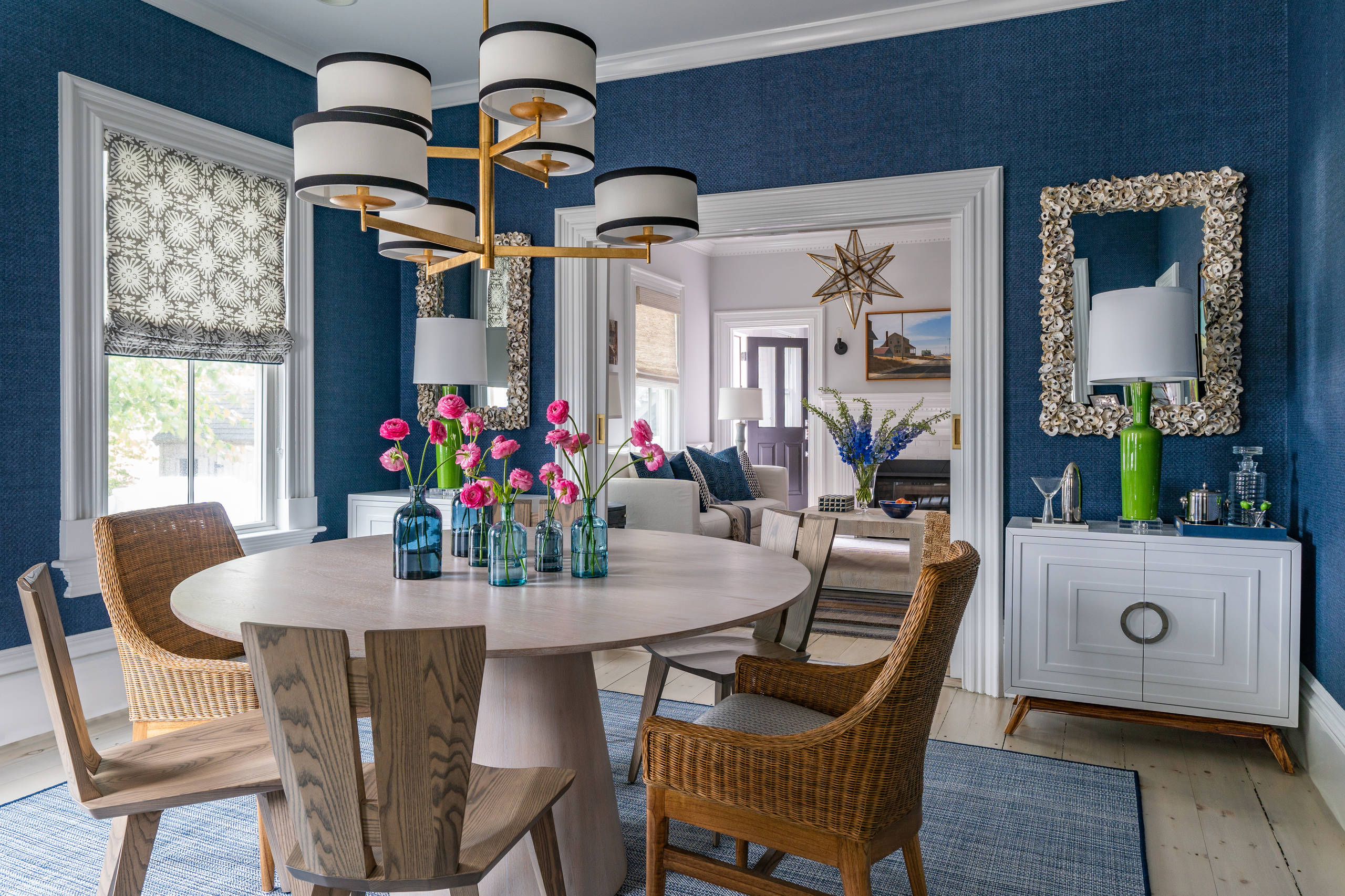 75 Beautiful Blue Dining Room Pictures Ideas February 2021 Houzz