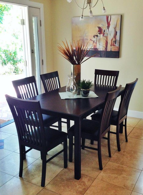 Set Design Transitional Dining Room San Diego By