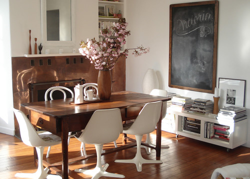 sfgirlbybay eclectic dining room
