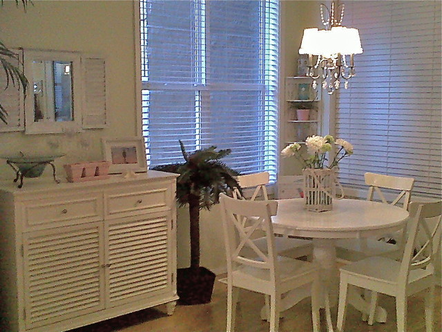 shabby chic beach condo. Black Bedroom Furniture Sets. Home Design Ideas
