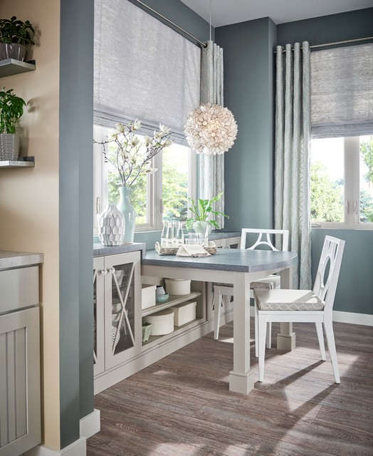 Transitional Dining Room: Shades Of Gray