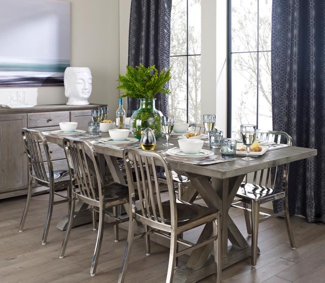 Modern Contemporary Urban Design Kitchen Room Dining: Shades Of Grey Dining Room