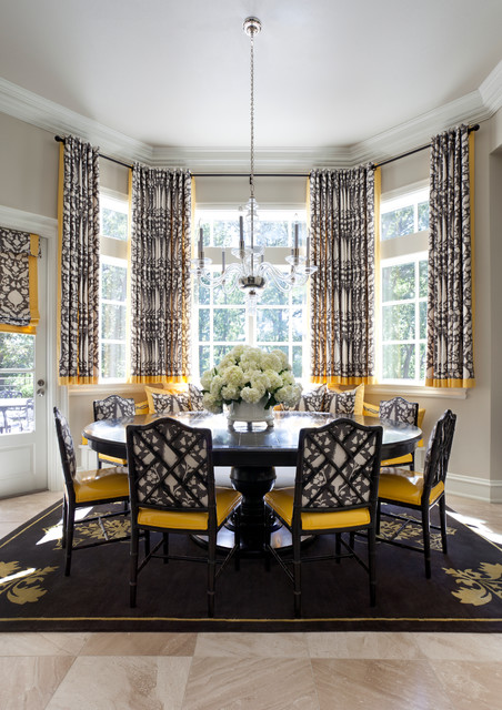 shadow valley classique chic salle manger little rock par tobi fairley interior design. Black Bedroom Furniture Sets. Home Design Ideas