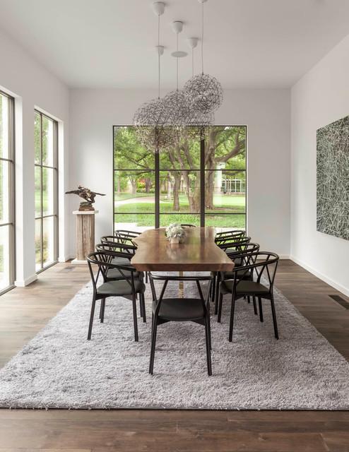 Shadywood Contemporary Dining Room By Stocker