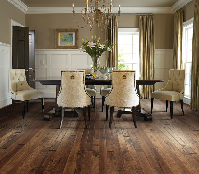Dining Room Flooring: Design Gallery - Traditional - Dining Room