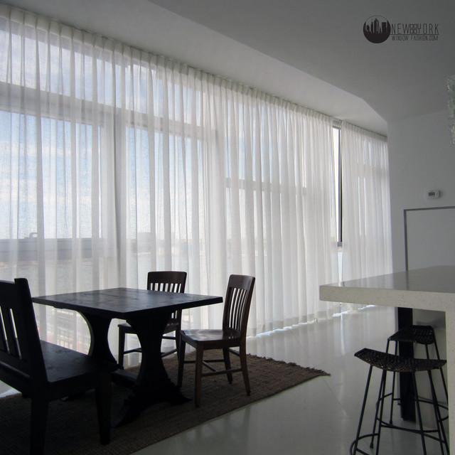 Dining Room Curtain Panels: Sheer Curtains @ Jean Nouvel
