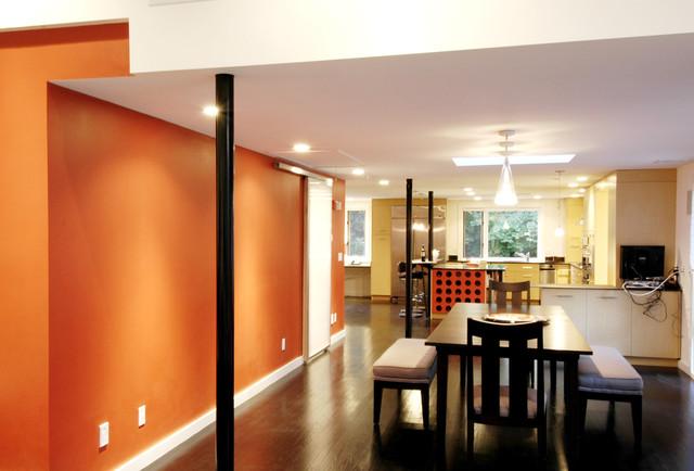shim house contemporary-dining-room