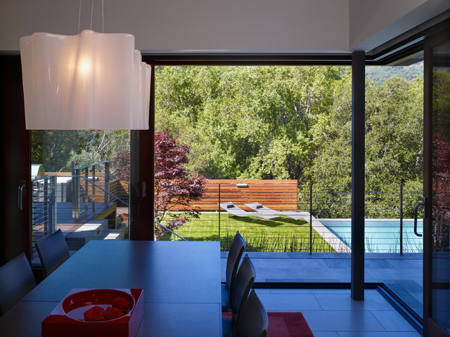 shimmon residence modern dining room san francisco