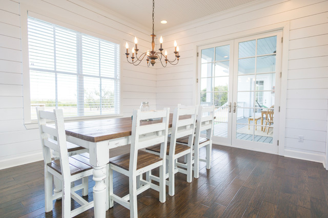 Shiplap farmhouse for W austin in room dining menu