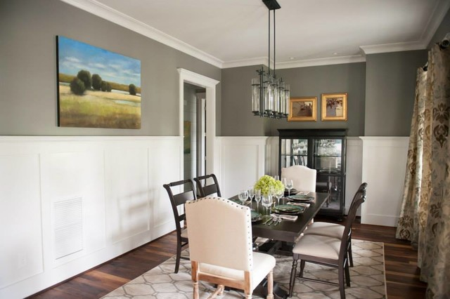 Shook Hill Traditional Dining Room Raleigh By Tab
