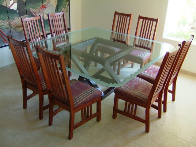Shoreline Dining Glass Table Top dining-room