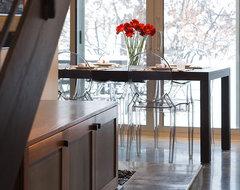 Short Street House modern-dining-room