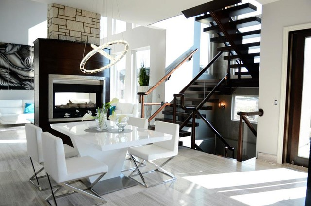 show home dining room | Show home - Modern - Dining Room - other metro - by ...