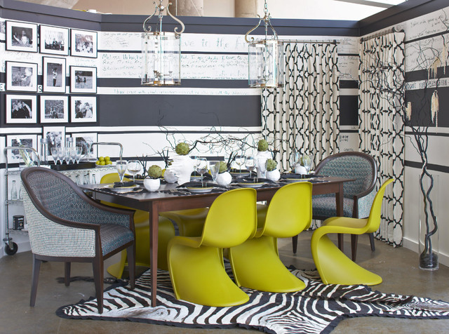 show house dining room eclectic-dining-room