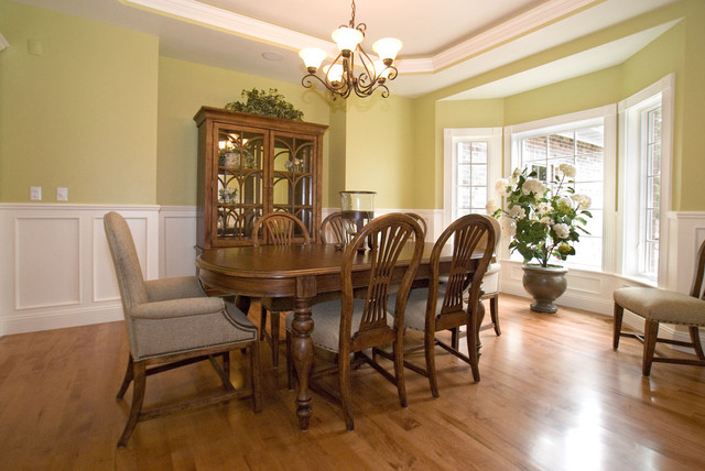 Showcase of New Homes traditional-dining-room