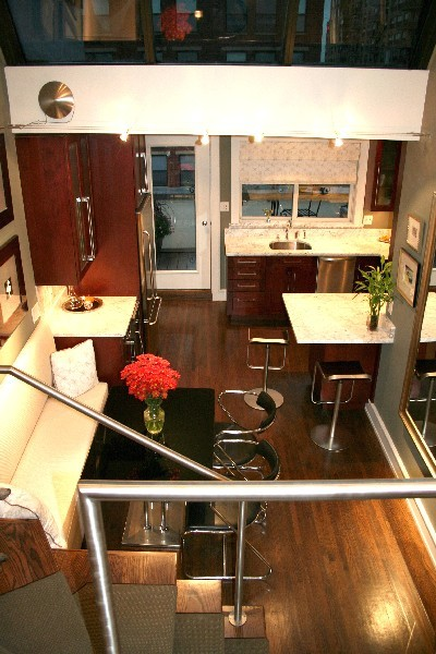 Showcase Penthouse Contemporary Dining Room New York