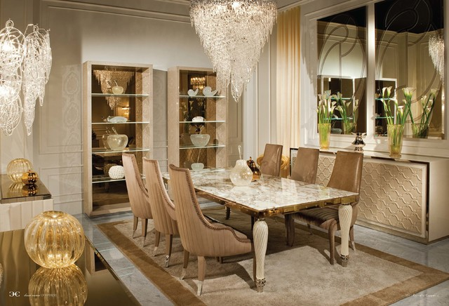 showroom contemporary dining room new york by home style by
