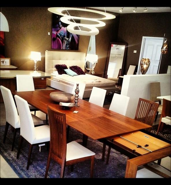 Showroom Vignettes Contemporary Dining Room other  : contemporary dining room from www.houzz.com size 592 x 640 jpeg 107kB
