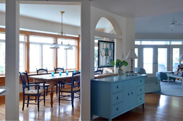 Shriver Cottage traditional-dining-room