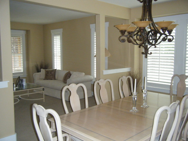 Shutters traditional-dining-room