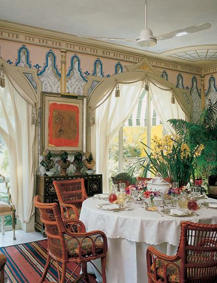 Sicilian Dining Room mediterranean-dining-room