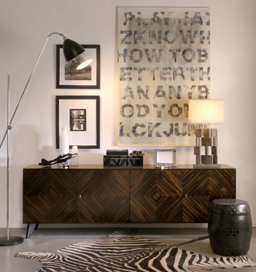 How to decorate a sideboard 7 designer tips for for Dining room sideboard designs