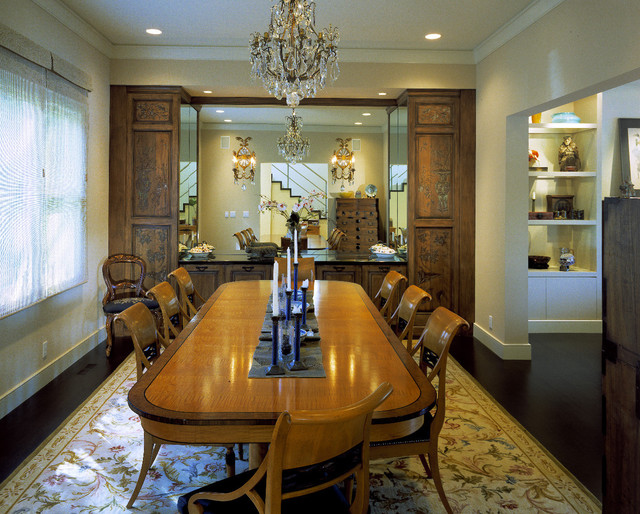 Siegel Residence traditional-dining-room