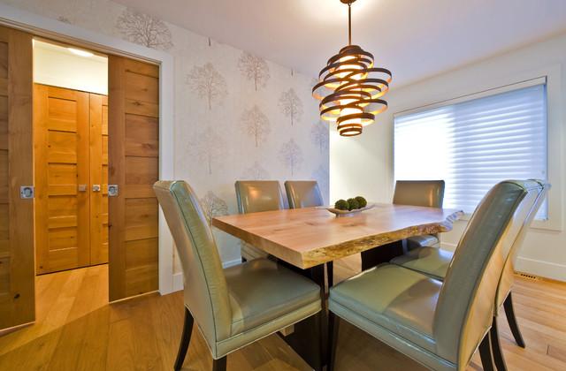 SILVERTIP RIDGE contemporary-dining-room