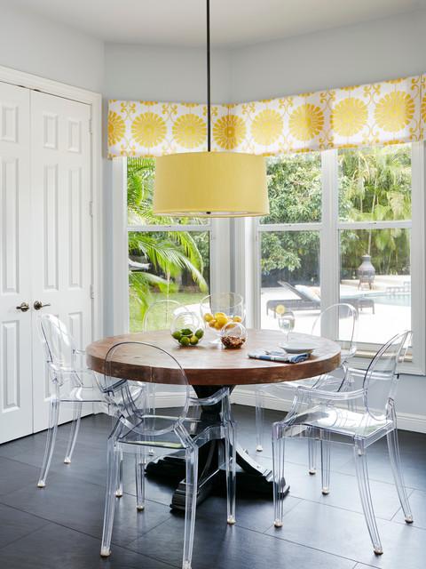 simple elegance kitchen classique chic salle manger miami par jennifer ribek inc. Black Bedroom Furniture Sets. Home Design Ideas