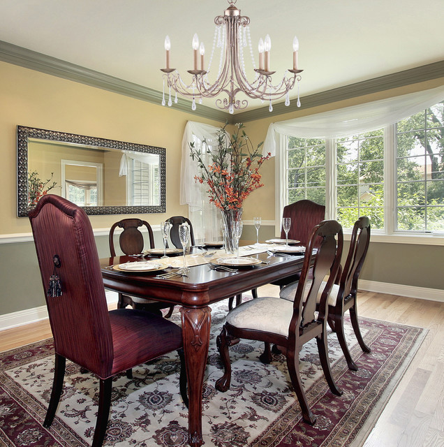 Dining Room Chandeliers Traditional: Six Light Antique Silver Up Chandelier