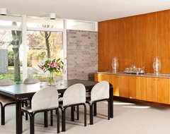 Sixties Spiffed modern dining room