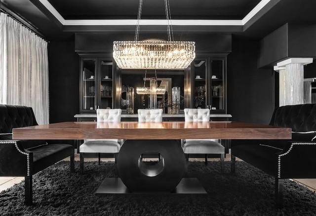 Orange Coast Interior Design · Interior Designers U0026 Decorators. SJC  Dramatic Remodel Contemporary Dining Room