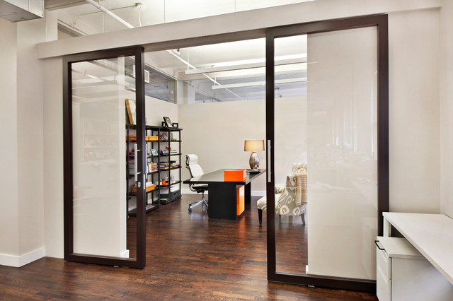 Sliding Door (S) & Sliding Wall (SW) - Contemporary - Dining Room - new york - by RAYDOOR