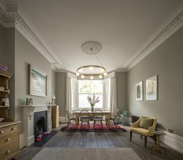 Slot house traditional dining room london by for Design apartment winterfeldtplatz zietenstr 25a
