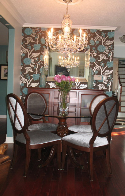small but special dining room traditional dining room toronto