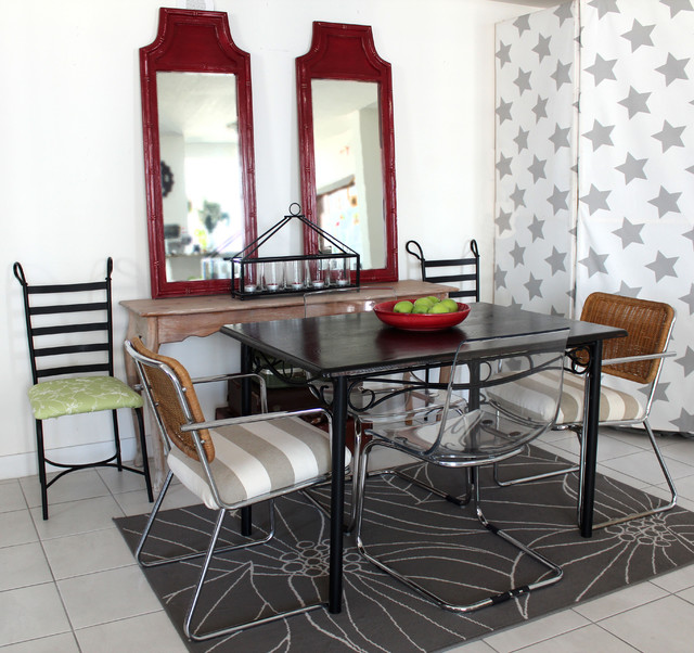 small dining on low budget eclectic-dining-room