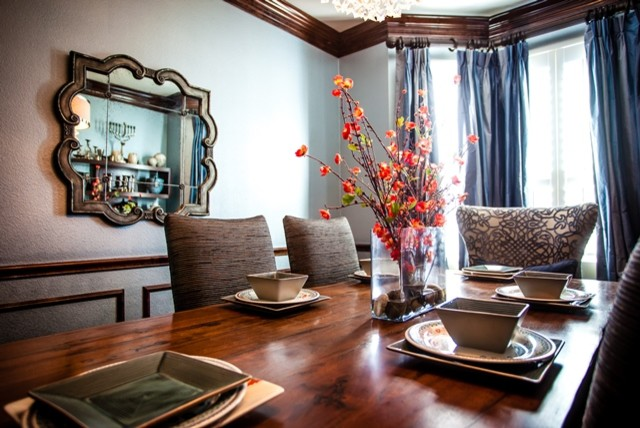 small dining room in katy tx eclectic dining room houston by