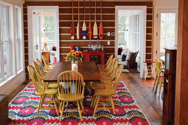 funky dining rooms | Small Funky cottage - Rustic - Dining Room - Toronto - by ...