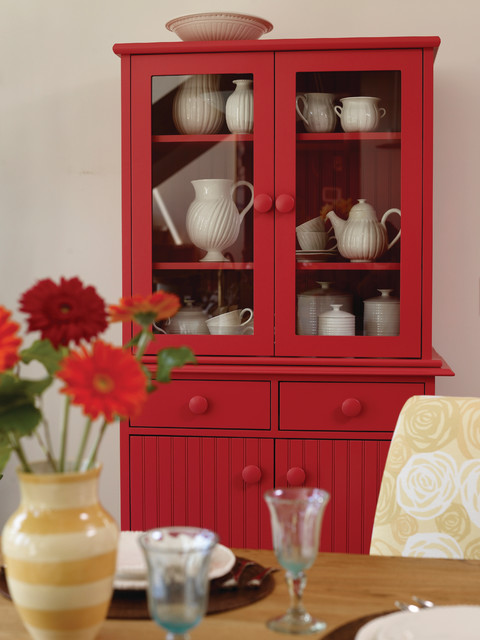 Small Island Buffet & Hutch - Traditional - Dining Room ...