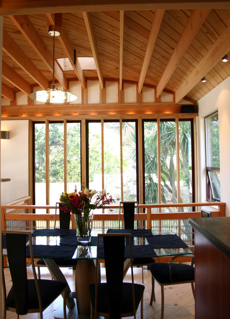 small residence in sausalito contemporary dining room san