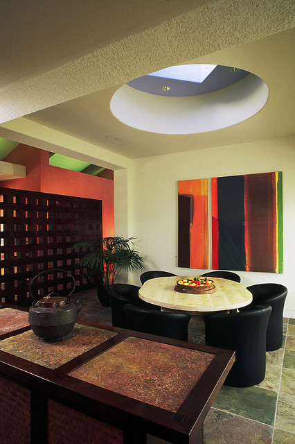 Small Residence contemporary-dining-room