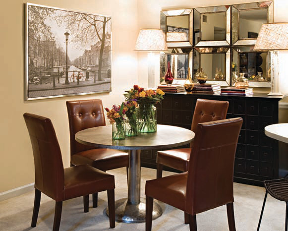 Gallery Of Small Space Dining Room Design Inspired By You With Small Space  Dining.