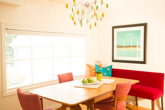 Small space remodel modern dining room portland by for Small modern dining room