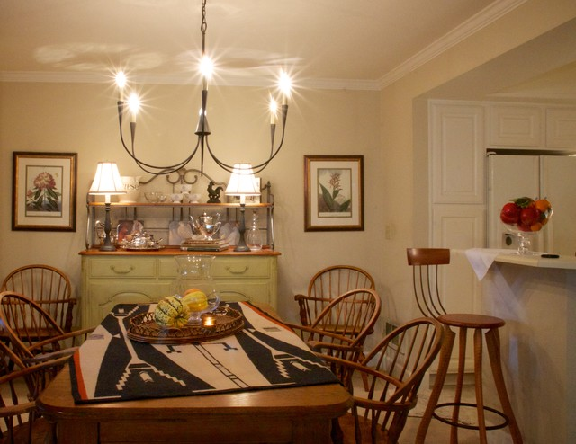 small spaces eclectic dining room seattle by
